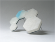 Aline Berdichevsky - Reconstruction 3, brooch